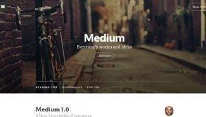 Medium, la nueva red social para compartir fotografías