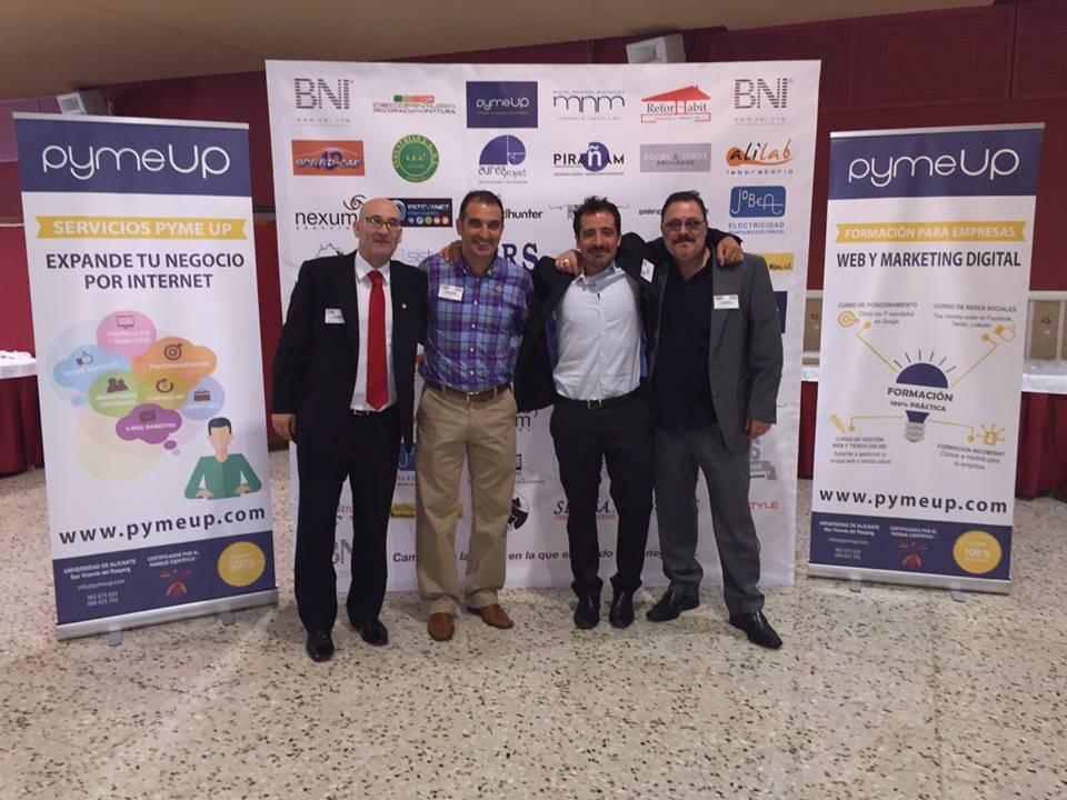 El BNI y el networking reunidos en San Vicente del Raspeig