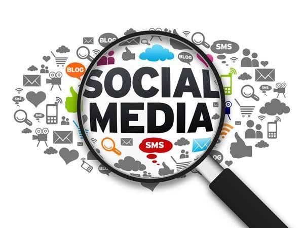 Grafismo de Social Media