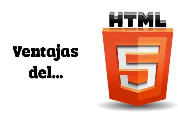 ¿Qué ventajas tienen las webs en HTML 5?