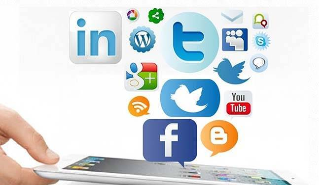 redes sociales en el Social Media